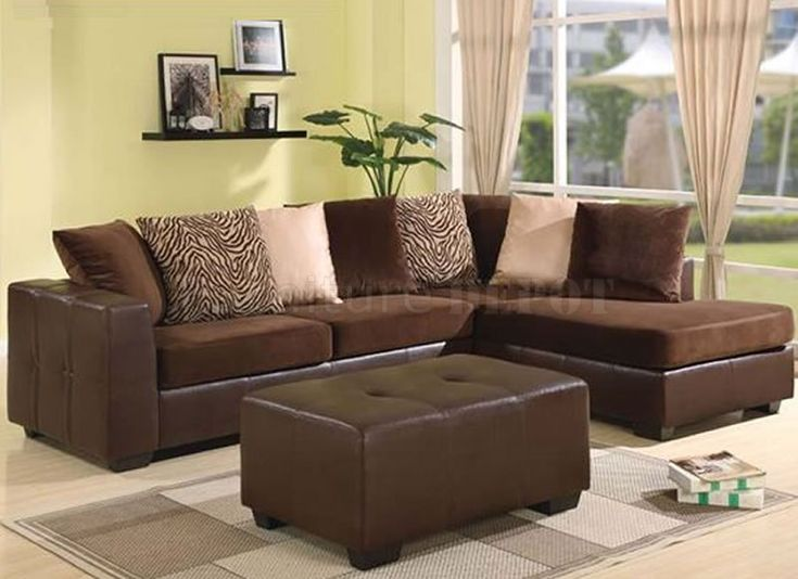 17 Best Ideas About Brown Sectional On Pinterest