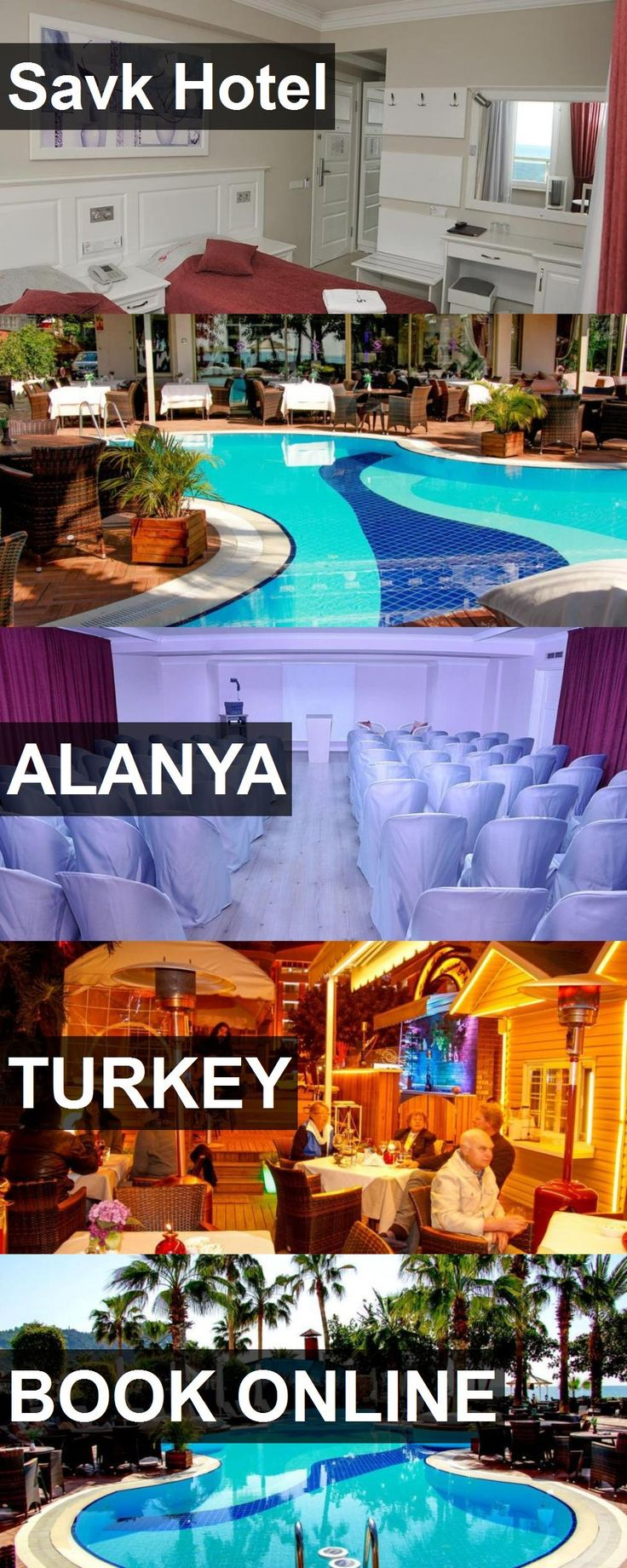 Savk Hotel in Alanya, Turkey. For more information, photos, reviews and best prices please follow the link. #Turkey #Alanya #travel #vacation #hotel