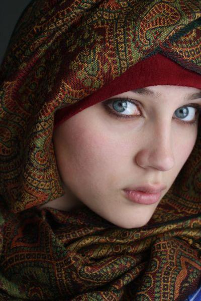Beautiful Muslim Girls Hijab Styels