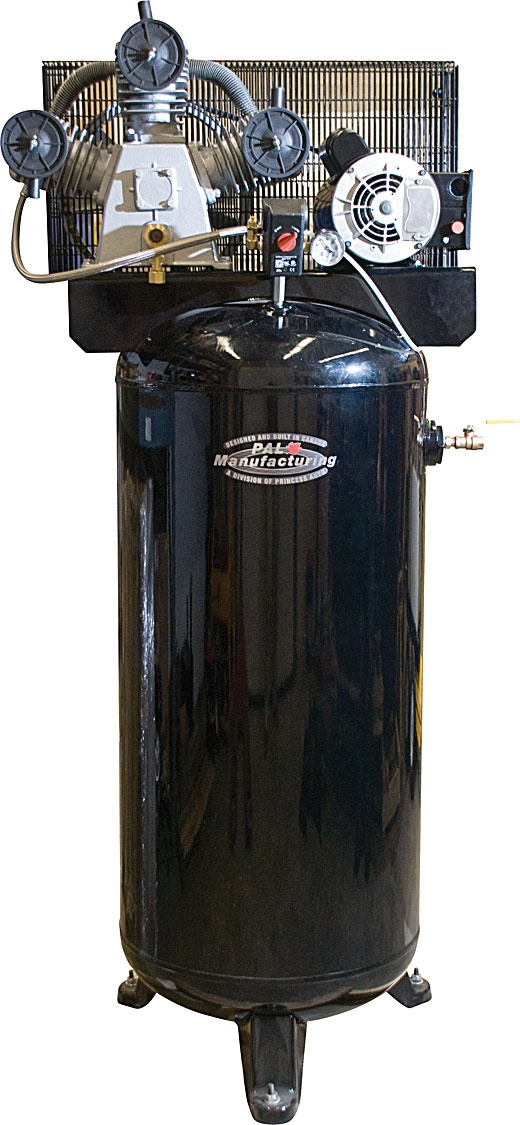 60 Gallon Single Stage Stationary Air Compressor Air