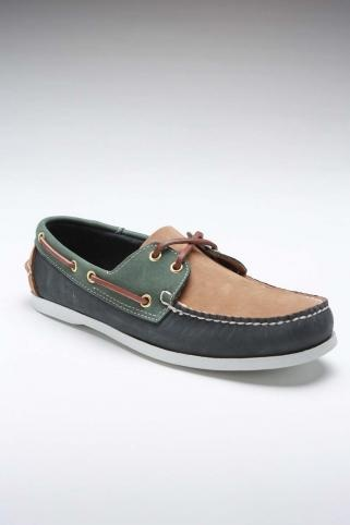 Island Surf Navy/Green Shoe.
