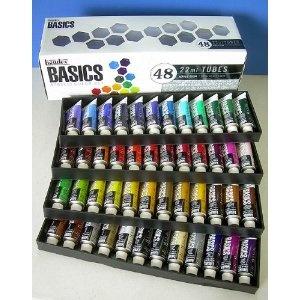 Liquitex Basics Acrylics, Set of 48 Colors