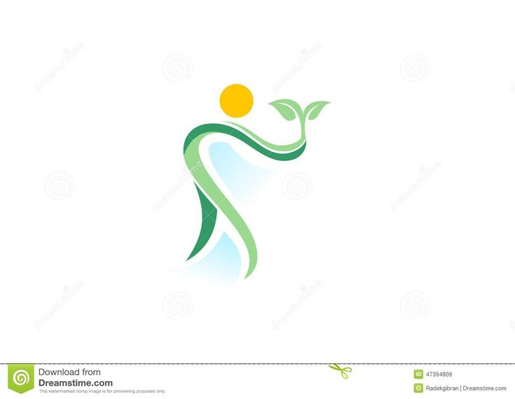 People,plant,spa,logo,natural Health Wellness,ecology Symbol Icon ...