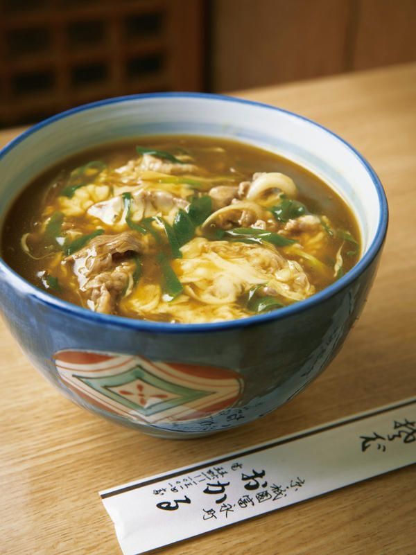 The famous and popular dish is the Curry Udon (wheat noodles in curry soup).