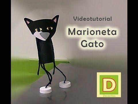 Cómo hacer una marioneta con un brik de Nata Central Lechera Asturiana - YouTube