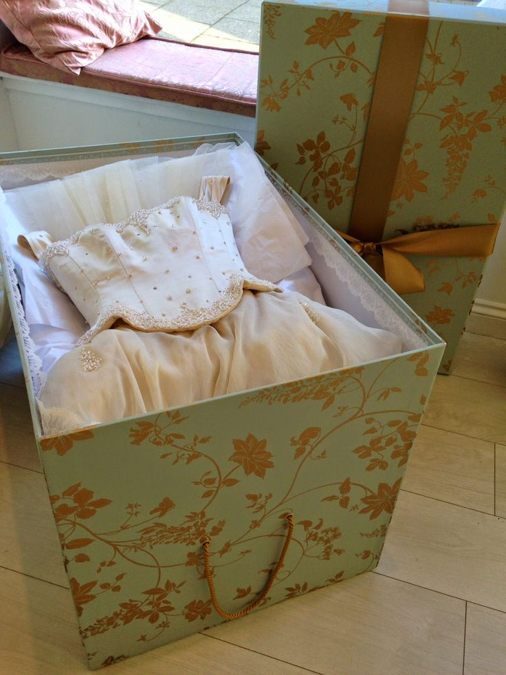 Preserve Your Wedding Dress Forever In A Box To Have Expertly