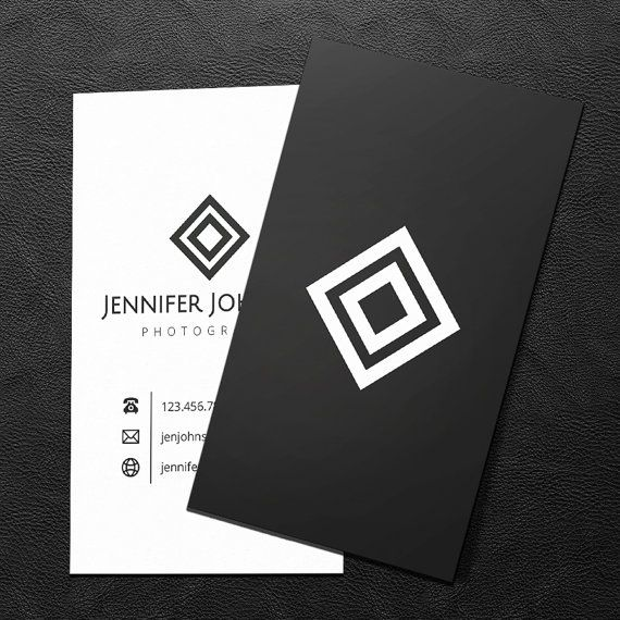 464 best business cards images on pinterest business card design premade business card design print ready printable business card black and colourmoves