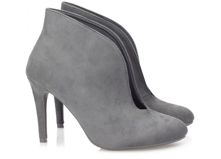 Botki Charlotte Dark Grey
