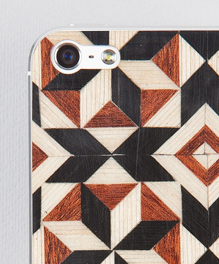 Taracea wood skins for iPhone5 - PURE TARACEA