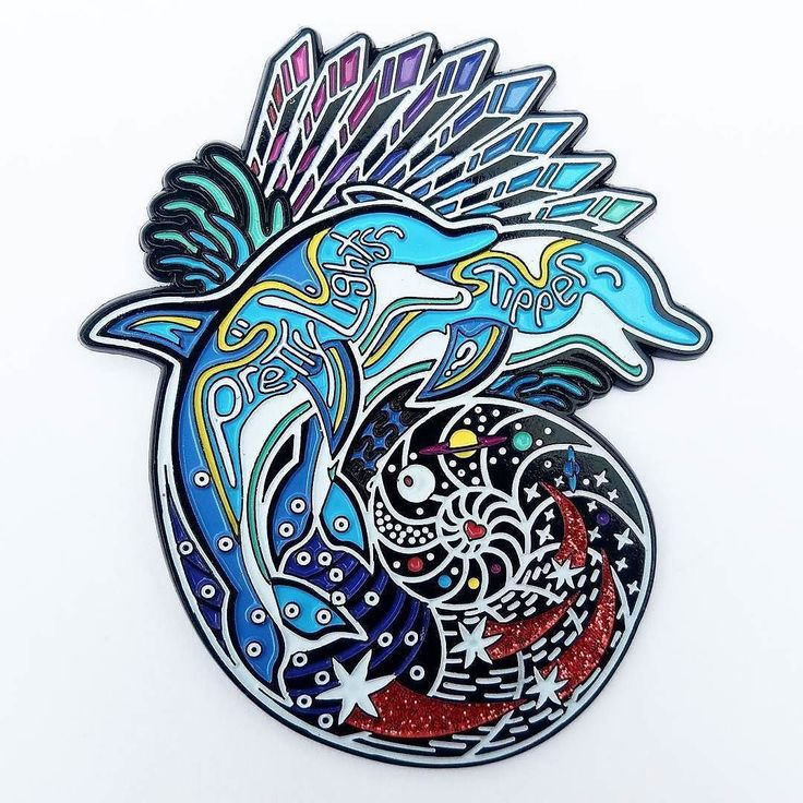 "#Repost @evolchicago  PIN DROP 'Space Dolphins'  2.5"" soft enamel glow-in-the-dark LE200  !!!!!ONLY 25 AVAILABLE ONLINE!!! Pretty Lights is bringing Tipper to their one-of-a-kind event at Chicagos Northerly Island a venue that lies just south of two very iconic destinations: The Shedd Aquarium and the Planetarium both of which inspired this newly released Space Dolphins pin. These playful and curious dolphins express themselves through a sort of dance as they swim through space in this…"
