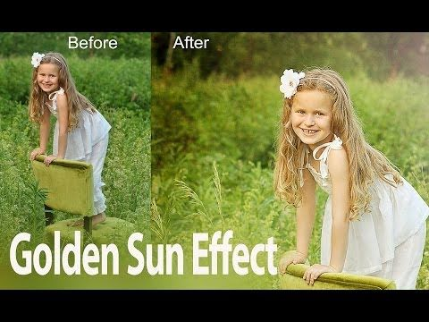Create Sunny Picture Look Using Texture Overlays - Photoshop Tutorial - YouTube