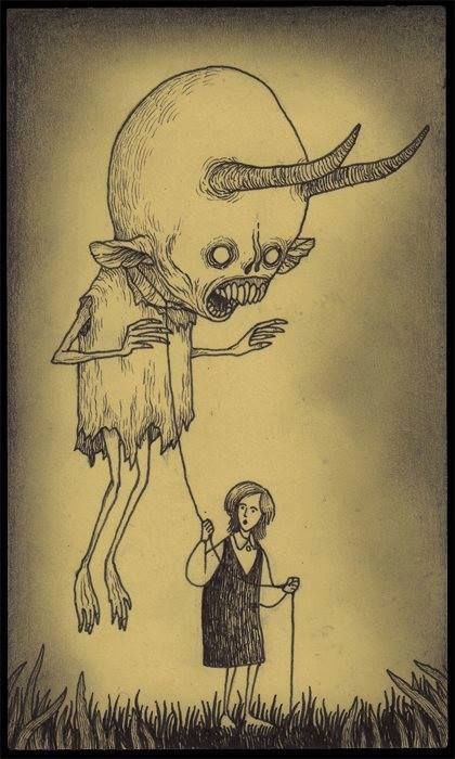 Take a walk with your demon! :)