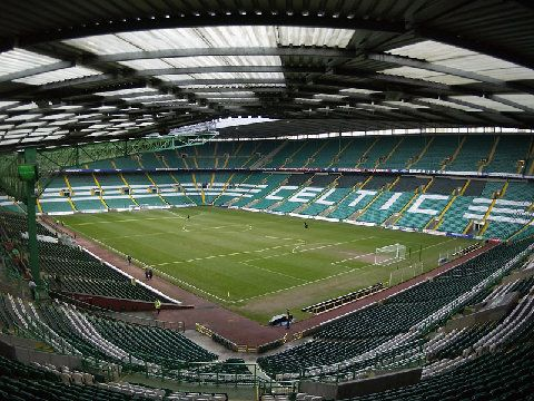 Soccer Pitches in Glasgow Scotland   Celtic Park pictures
