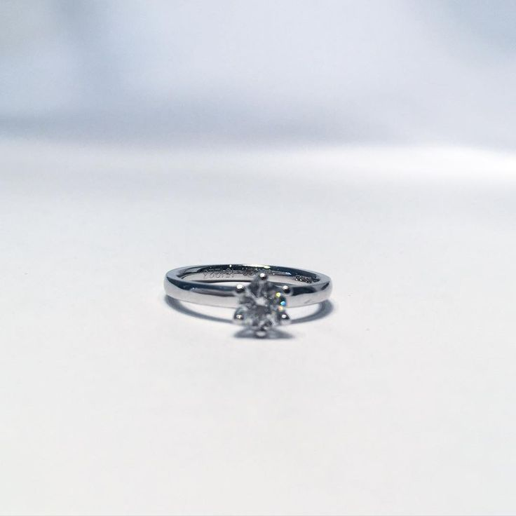 Fabulous Clara with a 0.40 carat diamond!    #engagement #engagementring #diamond #wedding #love #weddingband #diamonds #jewelry #jewellery #förlovning #nyförlovade #bröllop #kärlek #couple #lovestory #bryllup #forlovet #forlovelsesringe #diamondring #diamantring #diamantringe #diamanter #solitairering #enstensring VANBRUUN.com