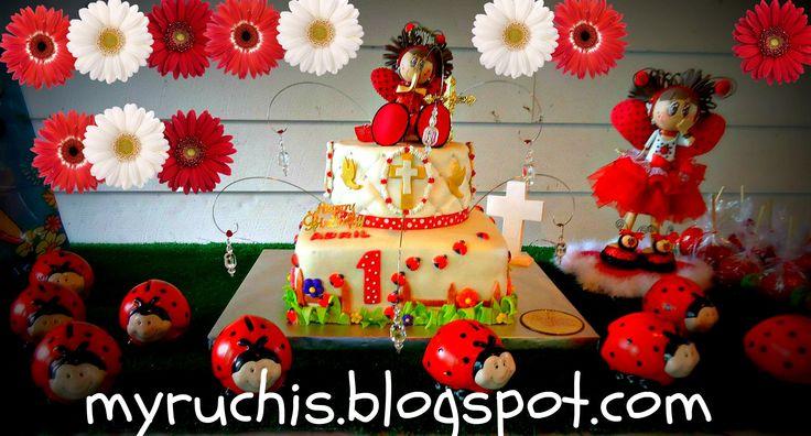 Fiesta ladybug decoraci n fiesta infantil fiesta ni a for Decoracion infantil nina