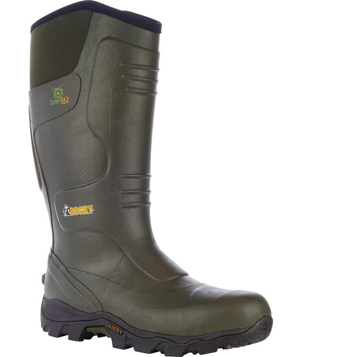 """ROCKY Outdoor & Hunting Boots – Men's 16"""" MudSox Rubber Boots – Style #4787"""