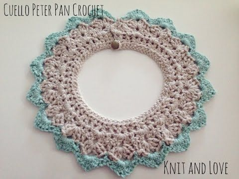 COLLAR CROCHET PETER PAN. PETER PAN COLLAR, My Crafts and DIY Projects