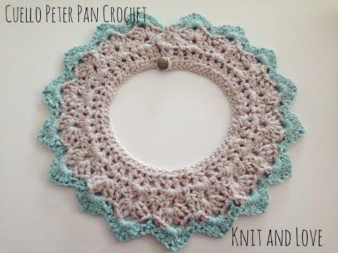 COLLAR CROCHET PETER PAN. PETER PAN COLLAR, My Crafts and DIY Projects