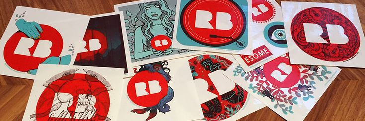 New Limited Edition RB Stickers: Collect 'em All