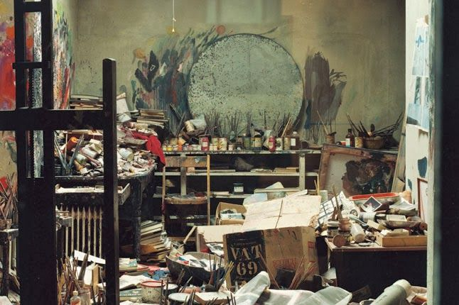 "Perry Ogden, ""Francis Bacon's Studio at 7 Reece Mews, London"""