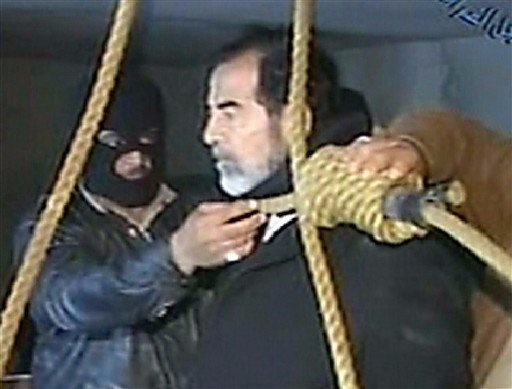 Saddam Hussein was hanged on December 30th, 2006, for Crimes Against Humanity. . And nobody misses him.