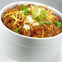 Drunk Deer Chili: I used Venison Sausage, Grass fed beef and oven roasted (in husk) corn on the cob instead of all the meat. Added chipotle peppers in adobe sauce (2tbsp) instead of 3rd tbsp of Chili Powder, and lastly used 1 1/2 cups beef broth (had no beef cubes). Would suggest leaving out water even if using beef cubes, as chili gets pretty thin. Served with Mexican Cornbread.