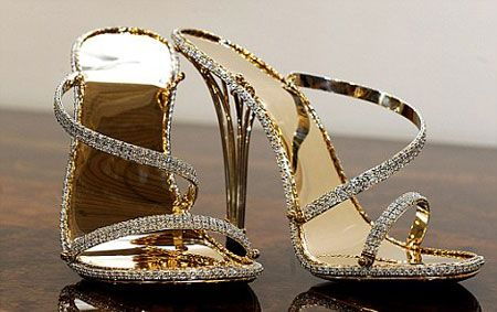 the 'most expensive shoes in the world' gorgeous!