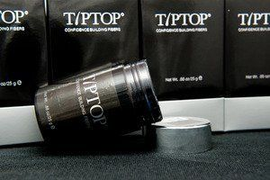 TIPTOP Confidence Building Fibers (10g, Light Gray) by TIPTOP. $39.95. Give you full head of hair in just 15 seconds.; Blends with any hair type & color.; Give volume for your hair and cover bald spots.; Great for men amd women.; 100% natural keratin fibers enriched with Myrtle and Ginger root extract.. TIPTOP builds your hair in seconds, with natural keratin protein fibers enriched with Myrte and  ginger root extract, TIPTOP creates a fuller natural  look wit...