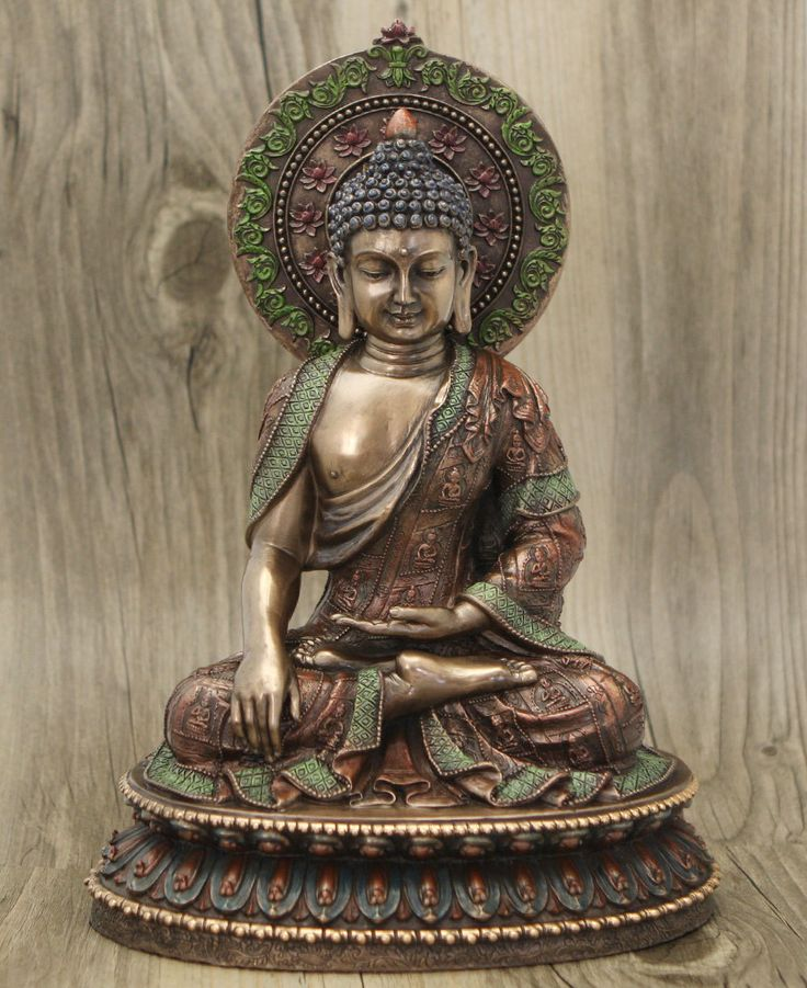 Detailed Meditating Buddha Statue