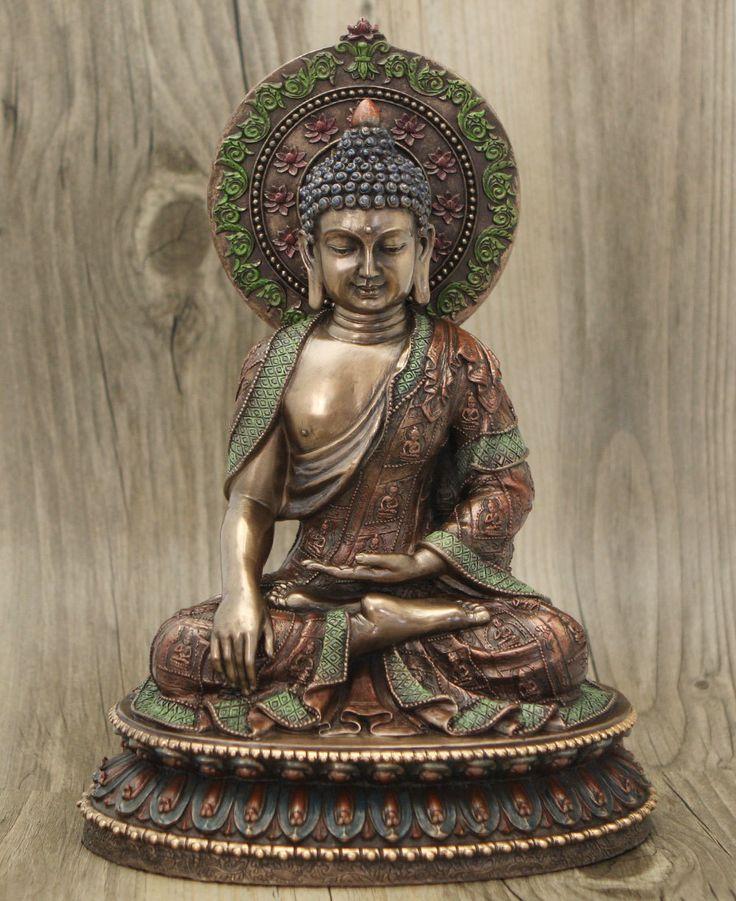 Detailed Meditating Buddha Statue
