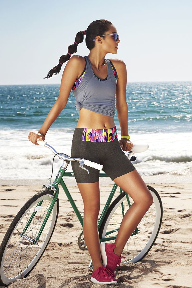 Ideal for the bike and beyond. The Oula Tank is seamless and chafe-resistant, while the Koia Sports Bra features fashion forward details we can't get enough of. The Suki Cycle Short is the cherry on top. Antigua - Fabletics