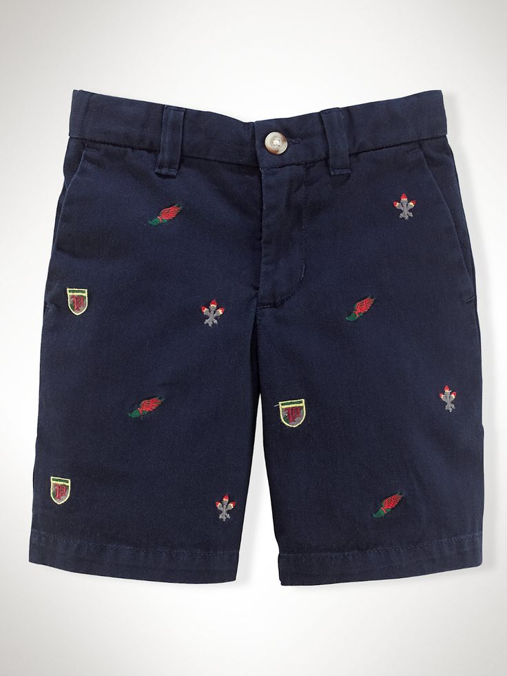 Preppy Cotton Short - Shorts   Boys 2–7 - RalphLauren.com
