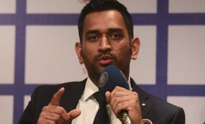 This is prove #MSDhoni is the greatest leader