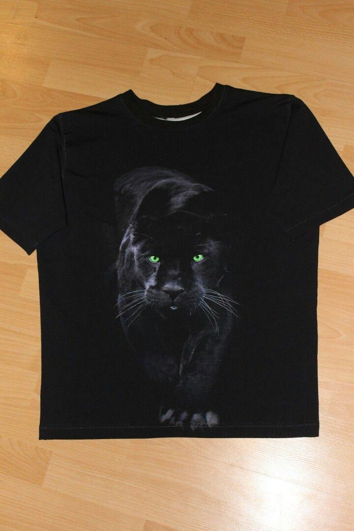 Мужская футболка с пантерой