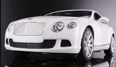 White Model Bentley Car Continental Scale Radio Remote Control  Kids Electric RC