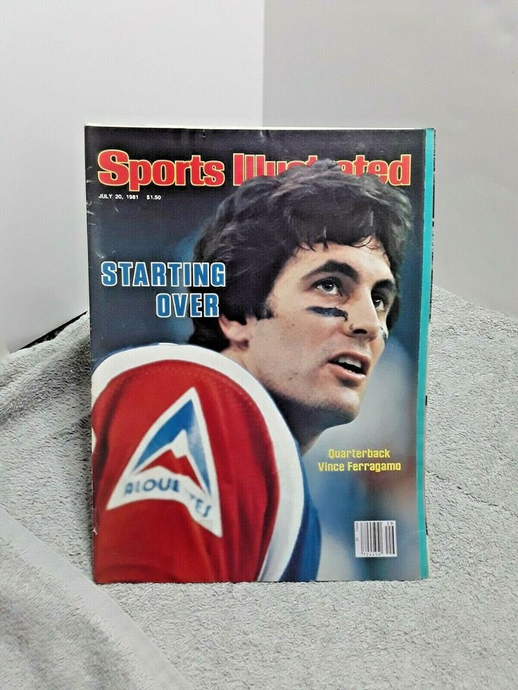 Sports Illustrated July 20 1981 Vince Ferragamo Montreal
