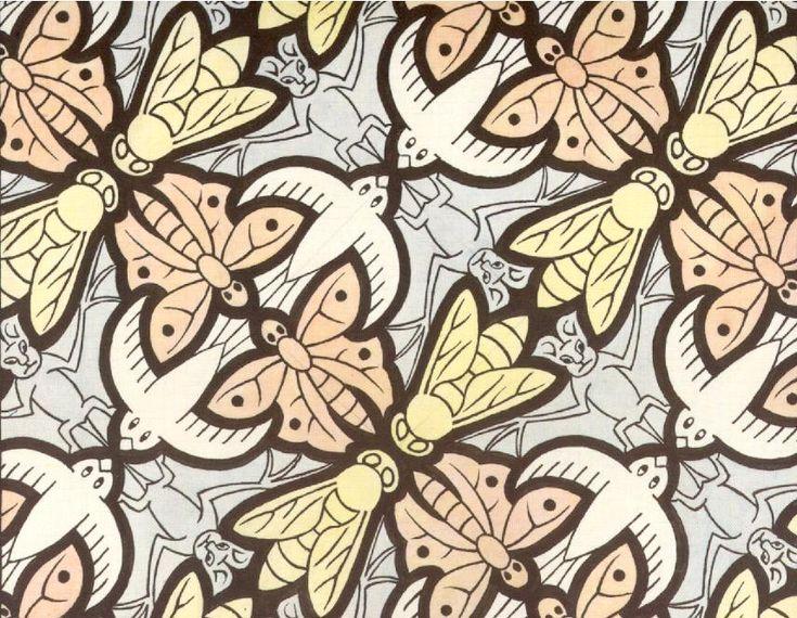 MC Escher Tessellations | escher3.jpg