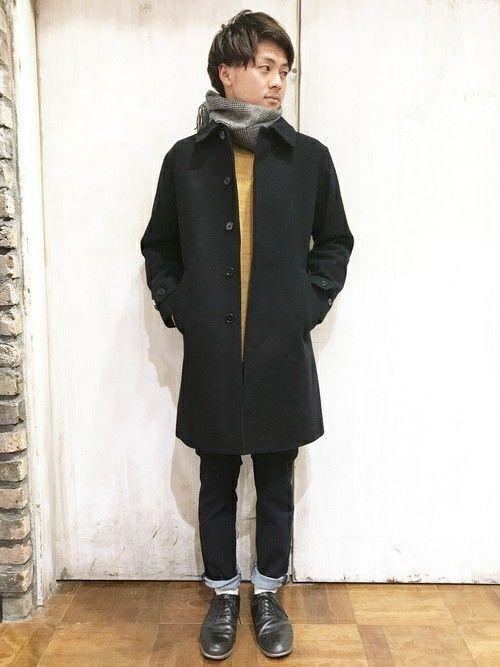 テーマはクリスマスデート💕尾州織のウールコート!寒い夜も軽くて暖かいコートでバッチリ😊パタゴニア