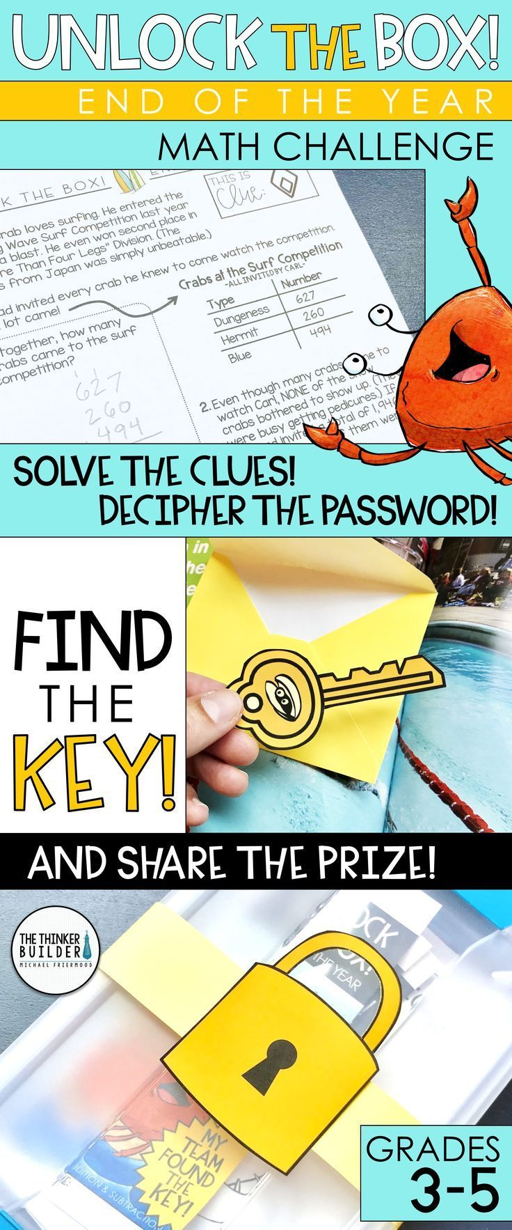 Unlock the Box! is an engaging math challenge for the end
