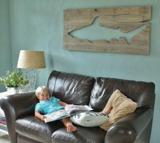 Holz Paletten Möbel Deko Wand Gestaltung