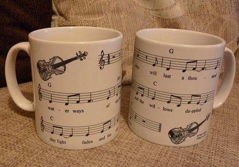 FolkLaw Waterways of England mug. Cuppa anyone?!