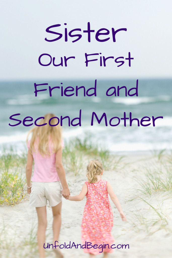 She considered herself my mother. I went everywhere with her when I was a child. Even on her dates.....read more on UnfoldAndBegin.com