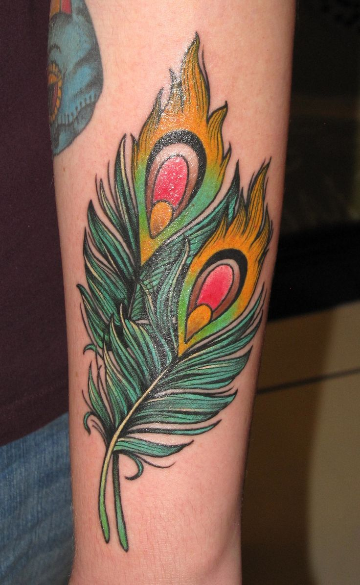 Peacock flower tattoo designs - Peacock Tattoos Designs Ideas And Meaning