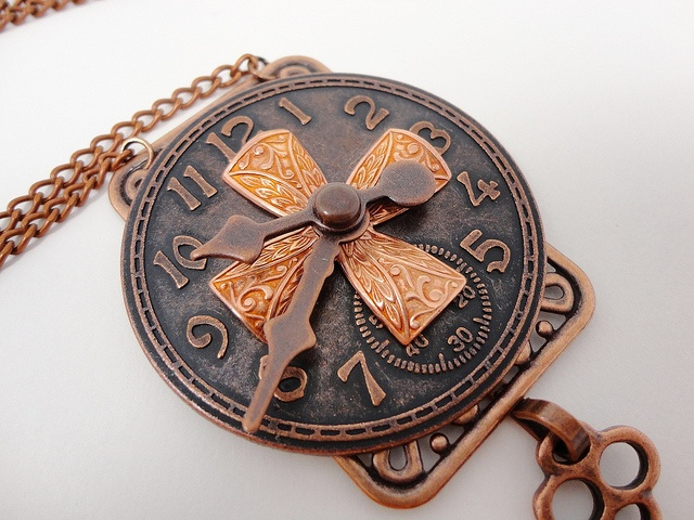 Steampunk Copper Fusion Necklace by Dr Brassy Steamington. Beautiful!!!!