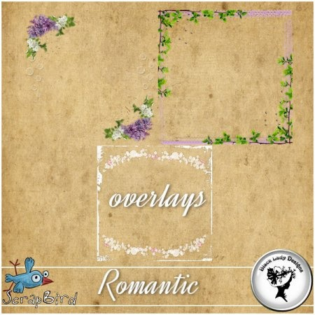 Romantic - Overlays by Black Lady Designs