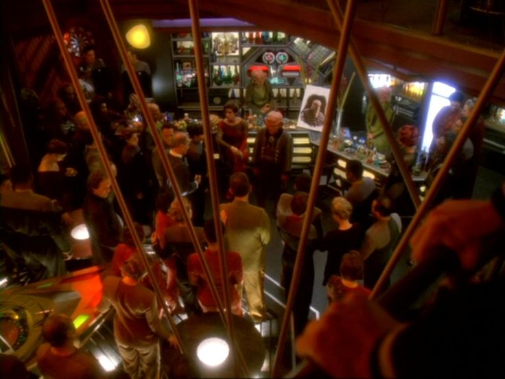 Quark's Bar in Deep Space Nine