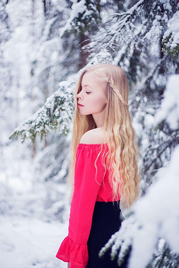 Portrait , Winter , selfportrait , snow , photography , portrait photography