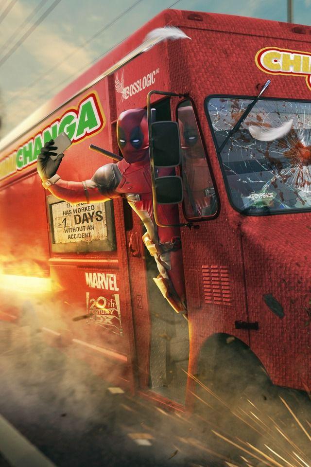 #Deadpool #Fan #Art. (Deadpool Selfie) By: BossLogic. ÅWESOMENESS!!!™ ÅÅÅ+