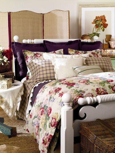 Ralph Lauren Home printemps-été 2012 : linge de lit et papier peint - Côté Maison