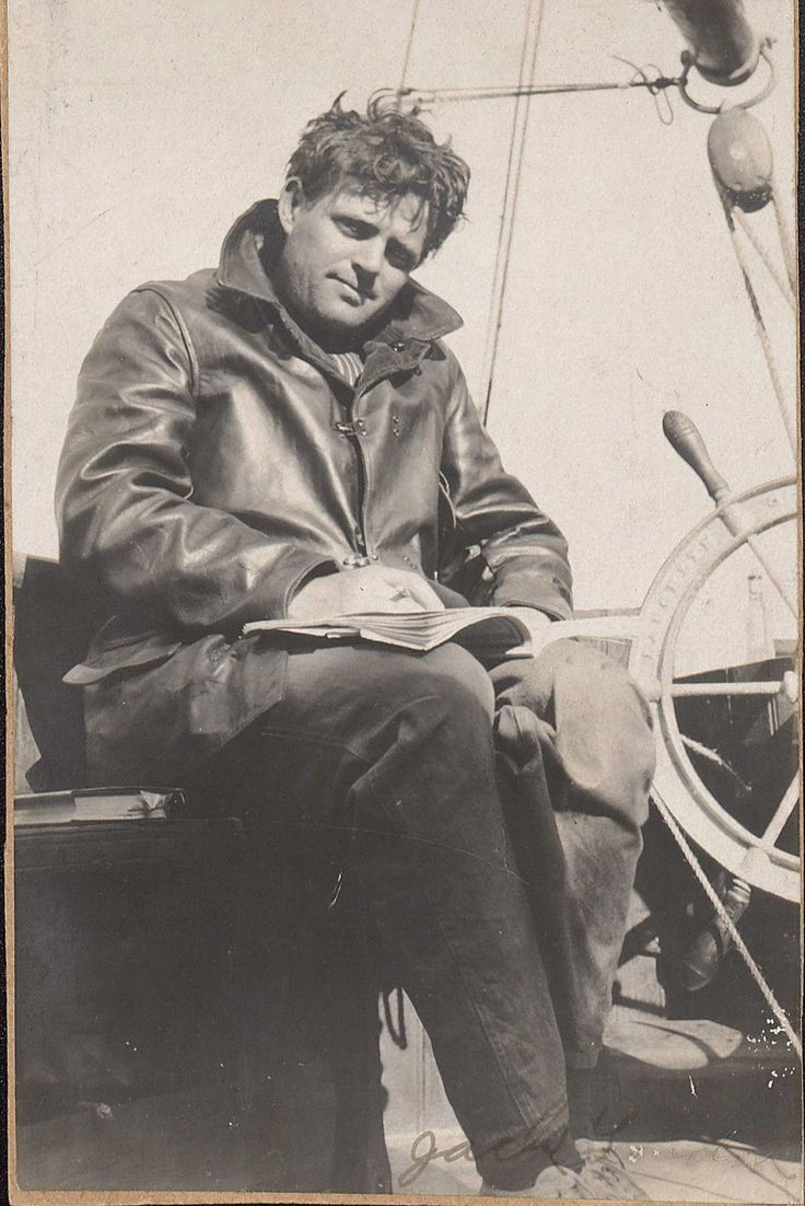 Jack London, author and sailor.